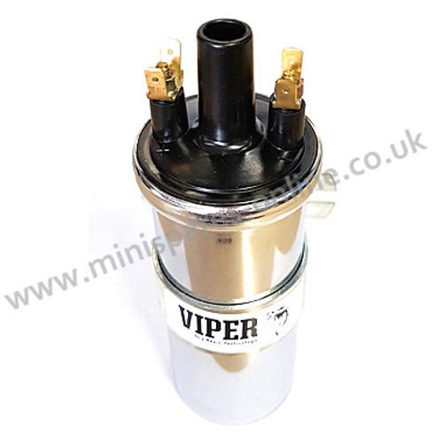 Viper ignition coil (Ballast) Chrome type for classic Mini