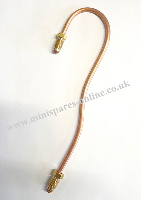 Classic Mini single line cylinder to T-piece brake line/pipe