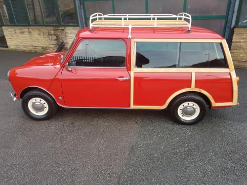 Classic Mini Countryman In Flame Red
