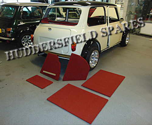 Boot liner for Classic Mini
