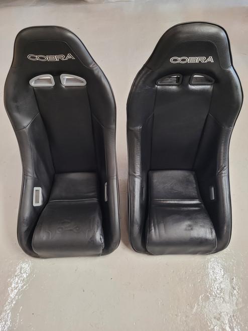 Cobra Clubman Black Vinyl Seats T7
