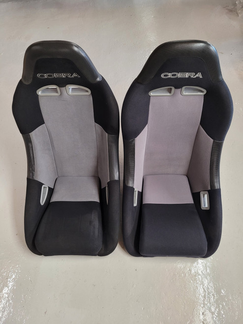 Cobra Clubman Black & Grey Seats T9