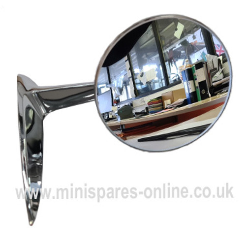 Chrome M2 Universal Mirrors For Classic Cars Pair