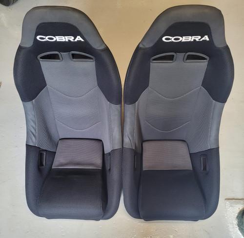 Cobra Clubman Black & Grey Fabric Seats T8