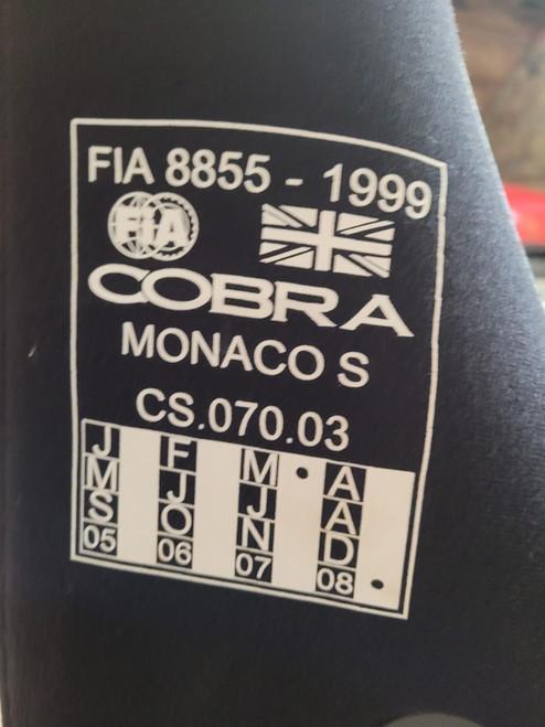Pair of Black Fabric Monaco S T17