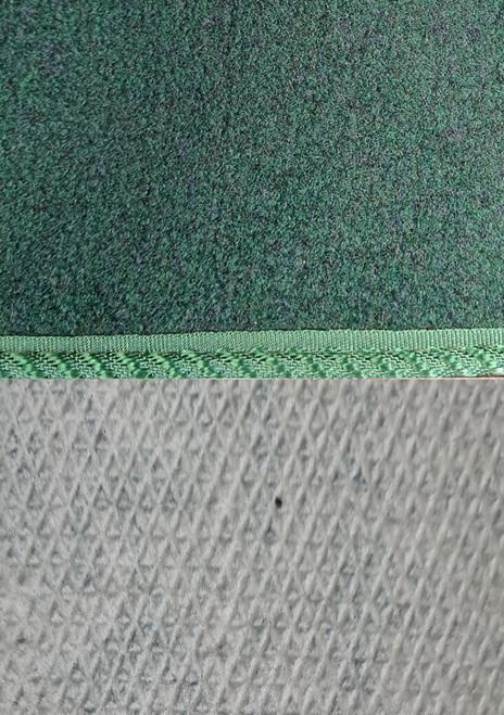Dark Green 12 piece Carpet for Classic Mini