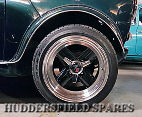 8x13 Genuine Revolution Alloy Wheel Package with Nankang NS-2R for Classic Mini