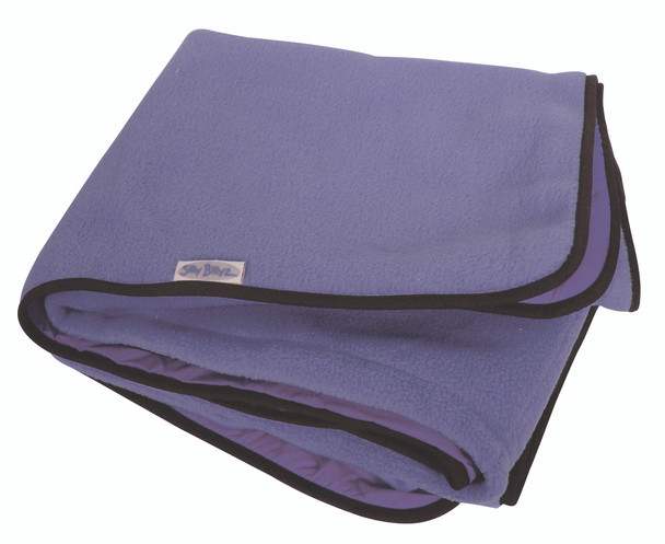 Large Lilac Fleece Play Mat