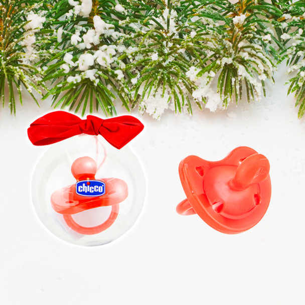 Physio Soft Red Christmas Soother Limited Edition 1pk