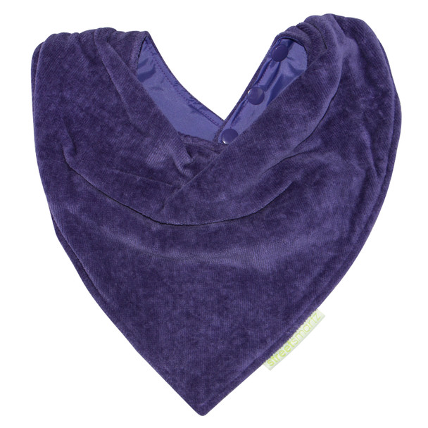 Purple Towel Youth Bandana Bib