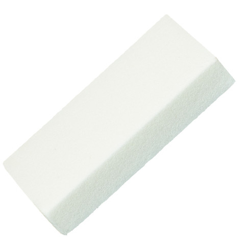 White Slim Buffer Block 120G 4 Way