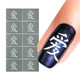 Chinese Love Symbol Nail Art Stencil