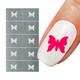Butterfly Nail Art Stencil