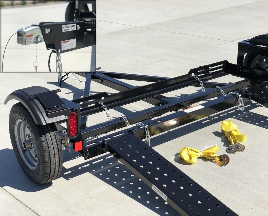 EZ Haul Car Tow Dolly with Hydraulic Brakes