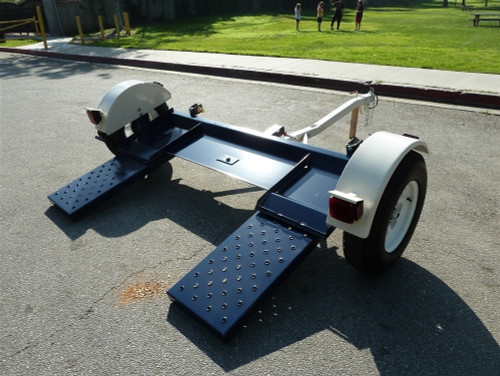 Tow Max Heavy Duty Car Tow Dolly Left Side View