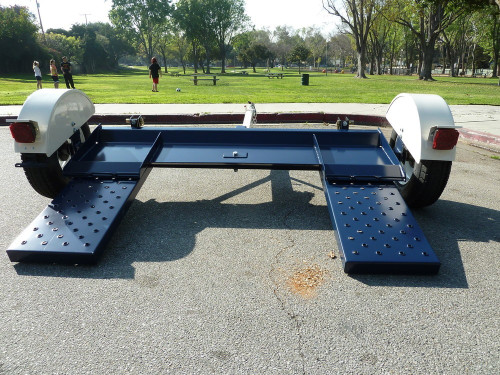 Tow Max Heavy Duty Car Tow Dolly Back View