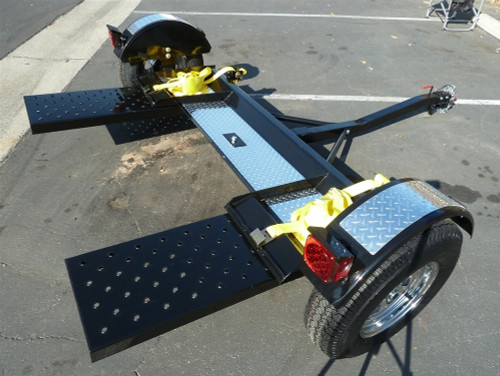 Premier Car Tow Dolly Full Side View