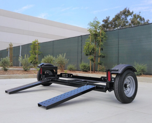 EZ Haul Idler Car Tow Dolly Right Side View