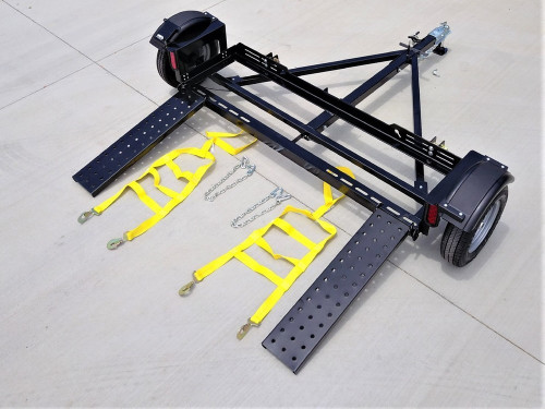 EZ Haul Idler Car Tow Dolly  Side View