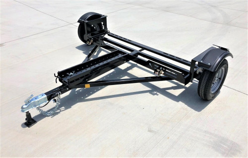 EZ Haul Idler Car Tow Dolly Left side View