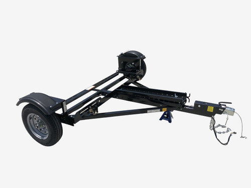 EZ Haul Car Tow Dolly with Hydraulic Brakes Right side View