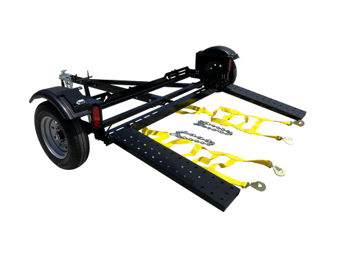EZ Haul Car Tow Dolly Side View
