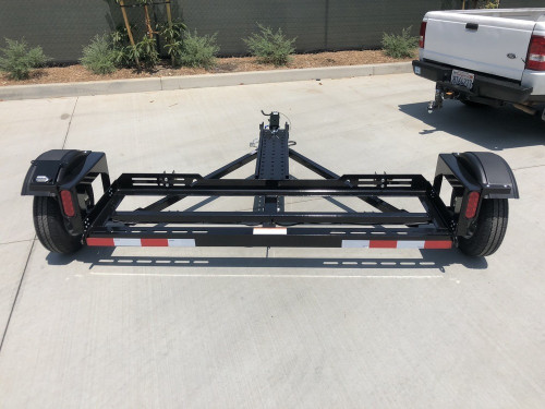 EZ Haul Car Tow Dolly with Hydraulic Brakes Back View