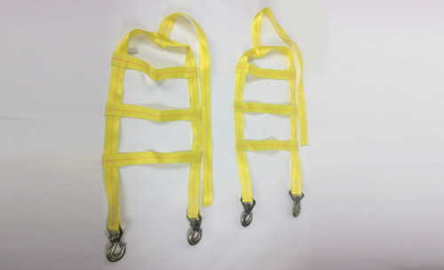 Set of Universal Wheel Straps for Ez Haul Tow Dolly