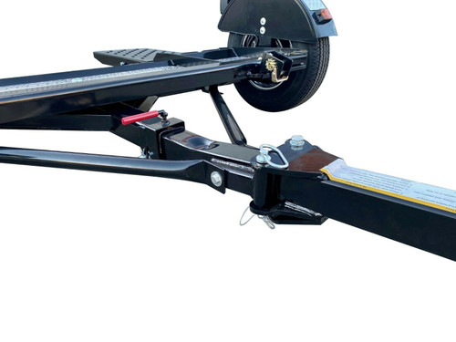 Premium Stow and Go Folding Car Tow Dolly with Surge Brakes