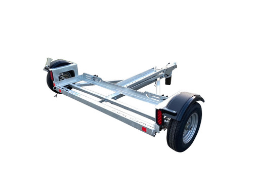 Galvanized EZ Haul Stand Up Idler Car Tow Dolly
