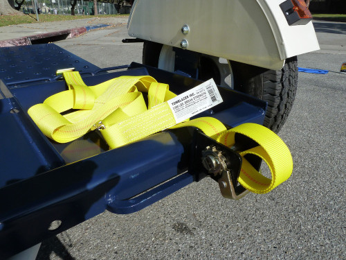 Tow Max Heavy Duty Car Tow Dolly Right side view