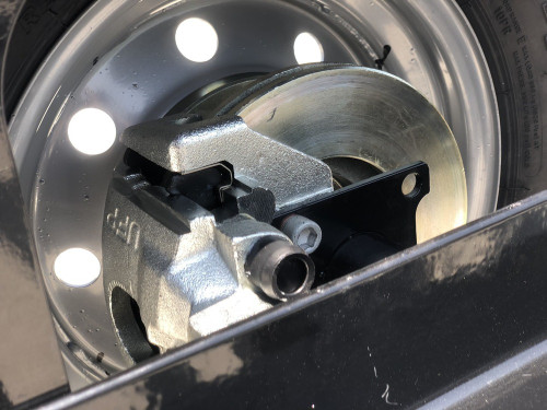 Galvanized EZ Haul Car Tow Dolly with Hydraulic Brakes