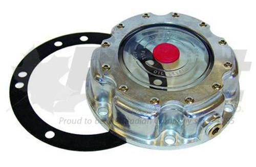 6 Hole Steering Axle Hub Cap W/ Gasket (RA4249)