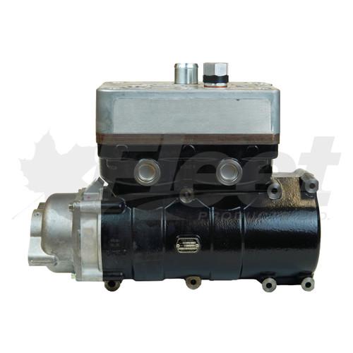 Air Brake Compressor - Yoosung Twin Side Mount for MAXXFORCE 13 NAVISTAR ENGINE WITH GEAR (3709815C94, K048595, 3624500C92, 7138)