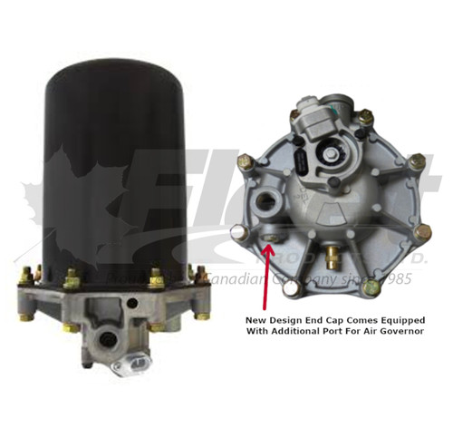 Model 9 Dryer W/New Design End Cap (109689-G)