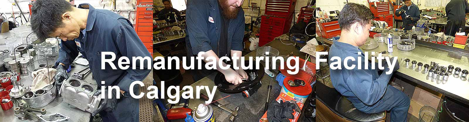 Remanufacturing In Calgary AB