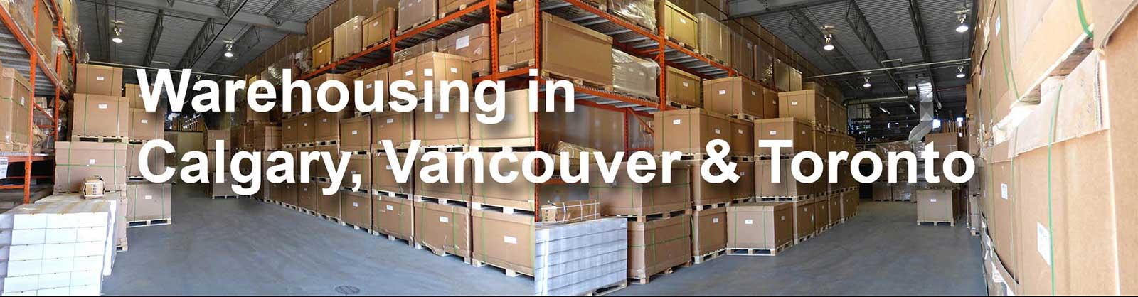 Warehouse in Calgary AB