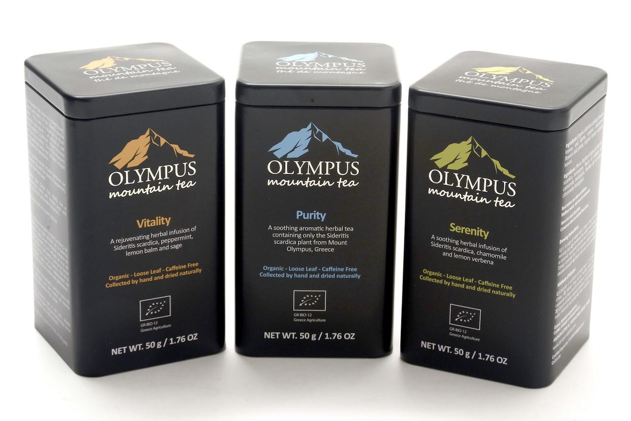 OLYMPUS  Organic Mountain Tea and Herbs