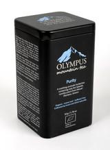 Purity  OLYMPUS Mountain Tea. Organic Greek Mountain Tea (Sideritis Scardica). Metal Tin Box 50 g. / 1.76 oz