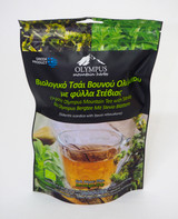 Organic Olympus Mountain Tea with Stevia. Net Weight 20 g / 0.70 oz