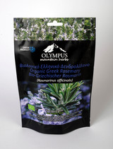 Organic Greek Rosemary.  Net Weight 40 g / 1.41 oz