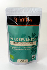 Peacefulness. Organic Herbal Tea infusion of Sideritis Scardica, Chamomile and Lemon Verbena by EnVios 50 g / 1.76 oz.