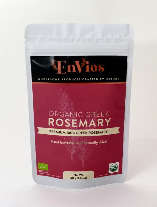 Organic Greek Rosemary. By EnVios, 40 g / 1.41 oz.