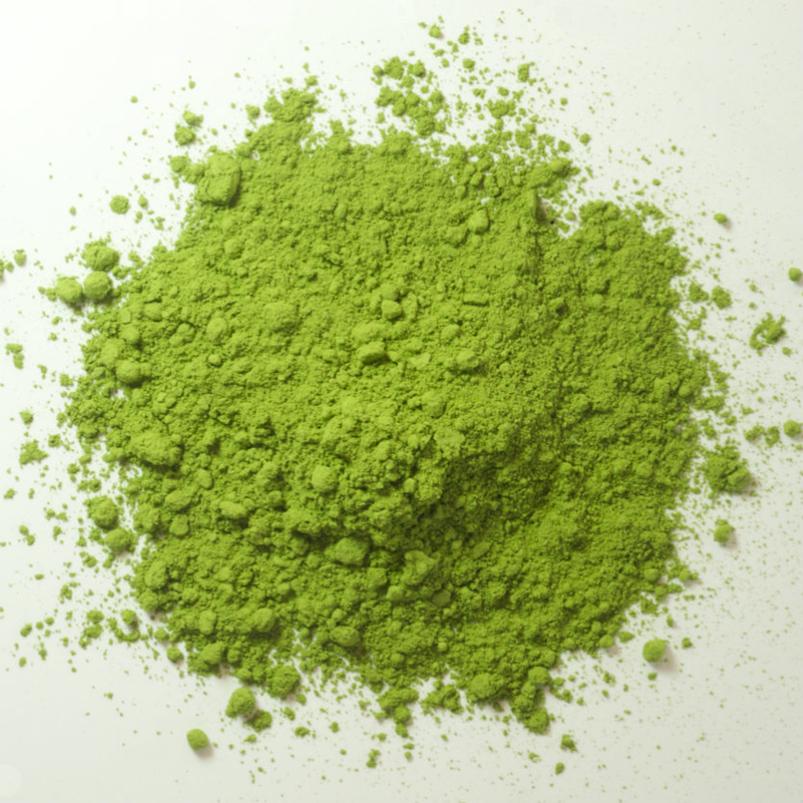 Matcha powder, pure concentrated green tea leaves