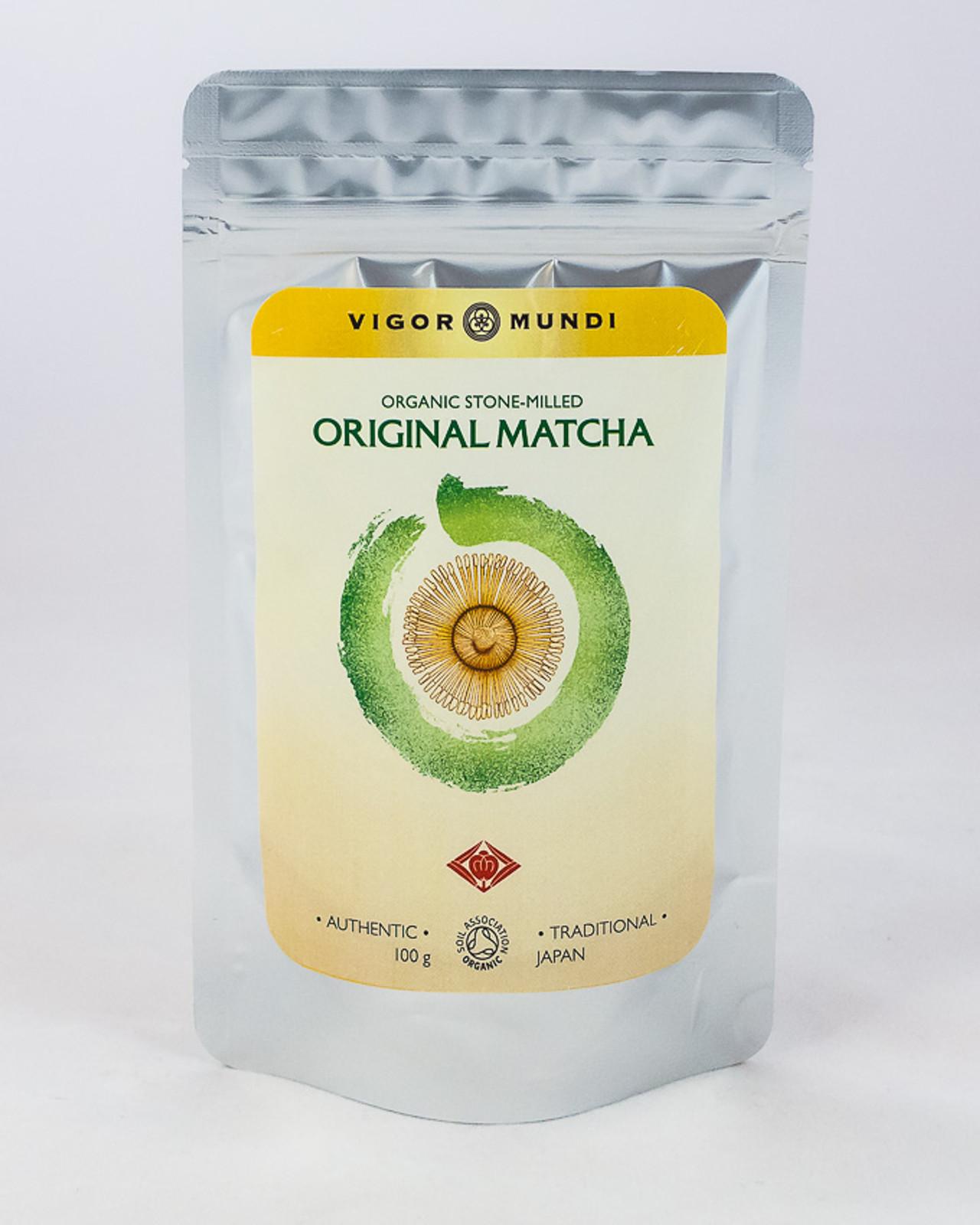 Raw Organic Stone-milled Original Matcha