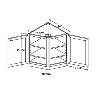 End Base Cabinet 2 Doors