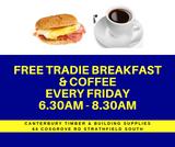 Tradie Breakfasts – July 2019
