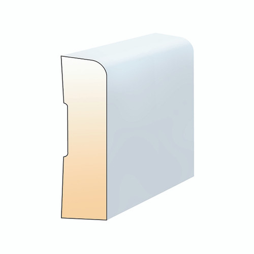 Canterbury Timbers MDF Primed MR 92X18 Pencil Round 5.4M PPR10025 0
