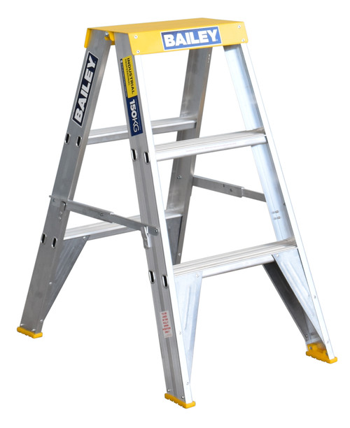 Canterbury Timbers Bailey Pro Double-Sided Ladder Industrial 150kg 0.9m