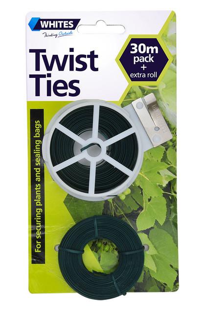 Wire Grn Twisttie 2X30M